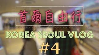 高速巴士地下街、盤浦大橋彩虹噴泉|韓國自由行 Travel in Korea D-4