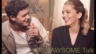 HAPPY DEATH DAY actors Jessica Rothe & Israel Boussard talk Walk Of Shame And Other Scary Stuff
