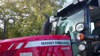 MASSEY FERGUSON 6616 & ALPLER DÖNERLİ PULLUK