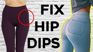 ❤️ 4 BEST Exercises For WIDER HIPS (Fix Your Hip Dips)    Get BIGGER Hips and Butt🍑