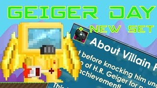 Growtopia | How to beat H.R. Geiger + New + Set | Geiger's Day