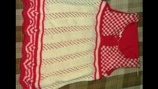 Easy Woolen Frock For Girls(Part-1) |Hindi