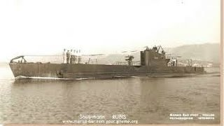 Sous marin Rubis, historique et plongée sur épave.wmv