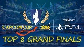 CAPCOM CUP 2016 Street Fighter 5 TOP 8 GRAND FINALS