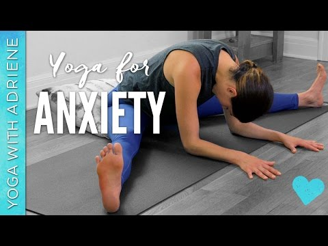 Yoga for Anxiety - 20 Minute Practice - Yoga With Adriene