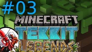 Minecraft Tekkit Legends #03 Gib Gummi