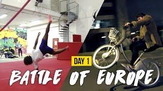 DAY 1 | BATTLE OF EUROPE 2016 | TRICKING GATHERING