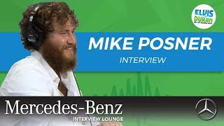 Mike Posner on Finding the Silver Lining | Elvis Duran Show
