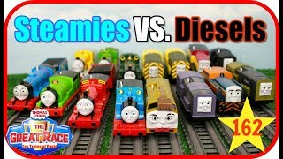 BEST Thomas and Friends THE GREAT RACE #162 Thomas & Friends TrackMaster Toy Trains FUN for Kids