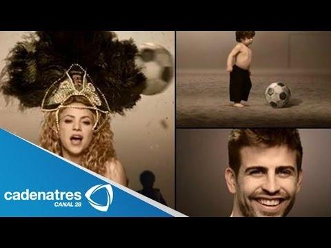 Xxx Mp4 Gerard Piqué Y Su Hijo Millán Aparecen En El Video Del Mundial De Shakira 3gp Sex