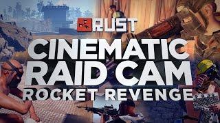 Rocket Raiding The KOREANS! ROCKET REVENGE - Rust Raid Cam