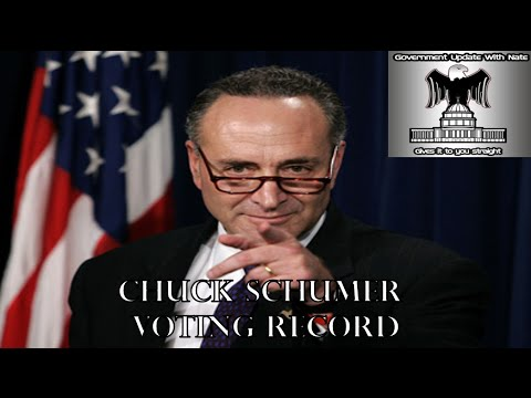 GUWN Charles Chuck Schumer voting record