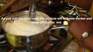 How to make Sadza (Ugali, Pap, Nshima)