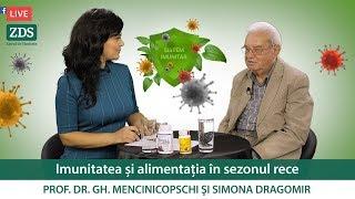 Imunitatea și alimentația în sezonul rece