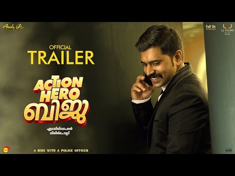Action Hero Biju Official Trailer HD With Subtitles   Nivin Pauly  Abrid Shine   Latest