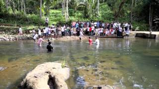 Seventh Day Adventist Baptism Service @ Sapang Dalaga 2012.mp4