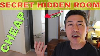DIY Secret Room with a Mirror Door