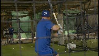 Dodgers Spring Training workout: Matt Kemp, Justin Turner, Corey Seager And Yasiel Puig