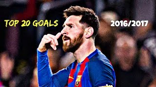 Lionel Messi - TOP 20 GOALS 2016/2017 | HD