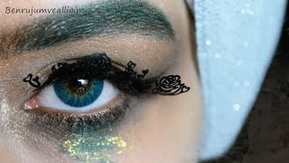 Creative Eye Makeup 💙 Elegance - Tosca #İnstagram