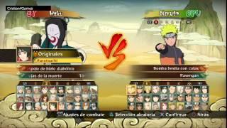 Naruto Storm Revolution - » Lista Todos los Personajes « - Español [HD]