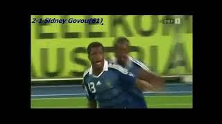 QWC 2010 Austria vs. France 3-1 (06.09.2008)