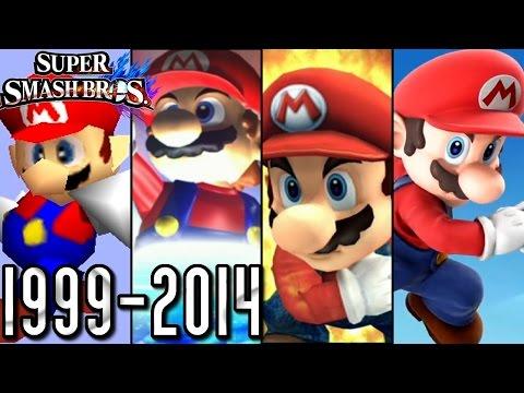 Super Smash Bros ALL INTROS 1999 2014 Wii U 3DS Wii GCN N64