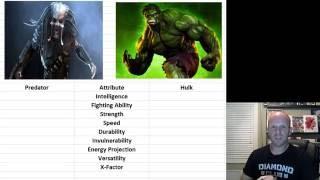 Dark Horse vs Marvel Predator vs Hulk