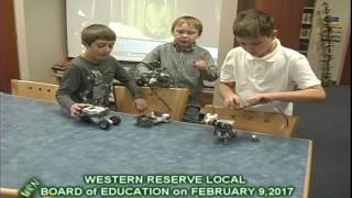 Future Robotics Engineers? Western Reserve Students Demonstrate Abilities