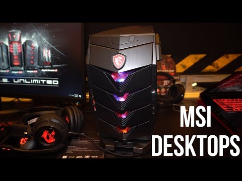 MSI Gaming Desktops Overview CES 2017