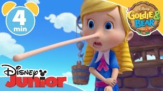 Goldie & Bear | Pinocchio-itis | Disney Junior UK