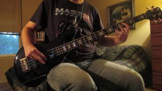 Warpaint - The Stall Bass Cover