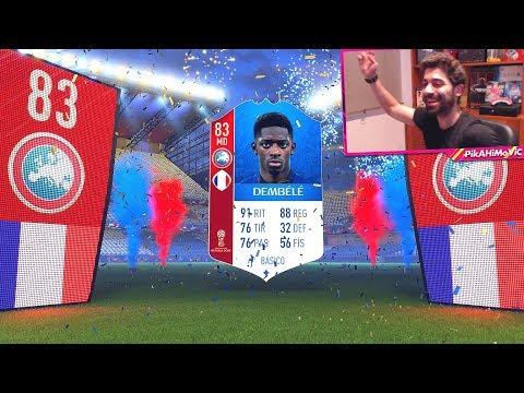 Xxx Mp4 ¡ME SALE DEMBÉLÉ DEL MUNDIAL FIFA 18 WORLD CUP PACK OPENING PIKAHIMOVIC 3gp Sex