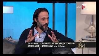 كل يوم - يوسف الشريف : انا اهلاوى لكن مش متعصب زيك والاهلى هايكسب الزمالك الماتش اللى جاى