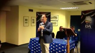 John Steenhuisen compares ANC African National Confusion to a drunk teenager