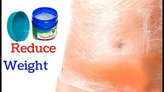Use VICKS to Remove Belly Fat Overnight | Lose Weight Fast OVERNIGHT with Vicks