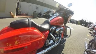 2017 Harley-Davidson Milwaukee-Eight (8) Road Glide - Test Ride and Review - South San Francisco