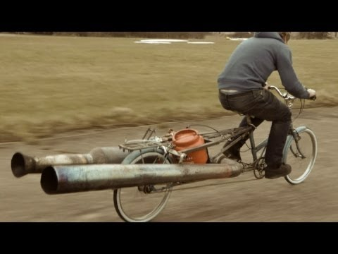 The JET Bicycle The most dangerous unsafe bike EVER