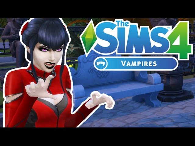 SUCKING BLOOD | The Sims 4 Vampires | Episode 1