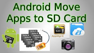 Android: How to Move Apps to SD Card (plus save photos to SD Card)