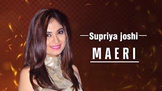 Maeri LIVE - Euphoria Group - Ishq Sufiyana Event | Playback Singer - Supriya Joshi