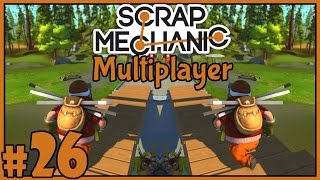 TV Set - Scrap Mechanic Multiplayer - Part 26 [Let's Play Scrap Mechanic Gameplay]
