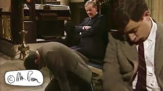 Sleeping at Church   Mr. Bean Official