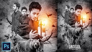 Action Movie Poster Manipulation in Photoshop - Photoshop Tutorial