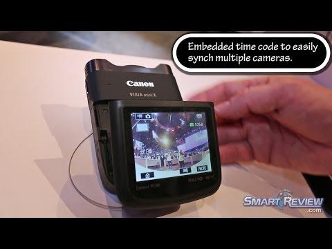 CES 2014 | Canon Vixia Mini-X Video Recorder | WiFi Camcorder | 9114B002| SmartReview.com