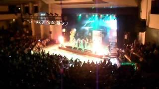 Sonny & Vaech Ft Nicky Jam - Gatubela (Remix) Live Premio Luna 2012