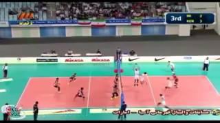 والیبال ایران قهرمان آسیا شد/ خلاصه بازی فینال