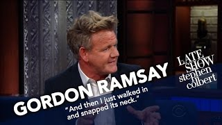 Gordon Ramsay Critiques Stephen