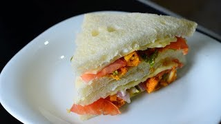 How To Make The Most Delicious Chicken Tikka Sandwiches by (YES I CAN COOK) #Tikka #Sandwiches