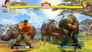 Ultra Street Fighter IV battle: Ryu vs Ken
